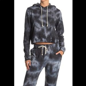 NWT- Threads 4 Thought Rose Cloud Wash Crop Hoodie